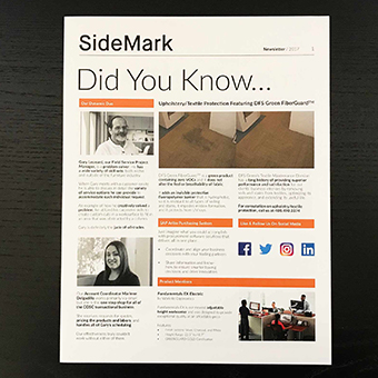sidemark newsletter preview